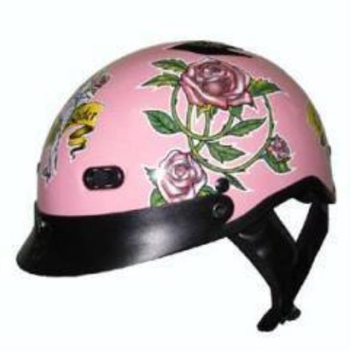 Dot Pink  Lady Rider Motorcycle Helmet  authentic online